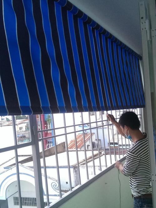 Bạt Che Hòa Phát ban công chung cư