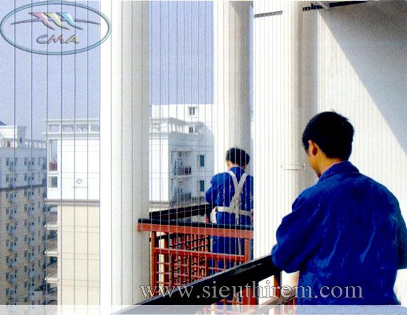 Lưới an toàn ban công cho chung cư cao tầng