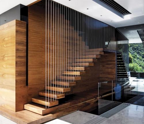 Phụ kiện cho cầu thang gỗ dây cáp